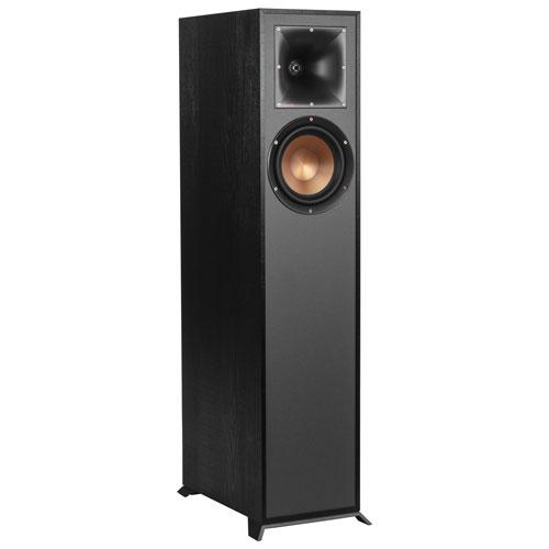 Klipsch F610F 85-Watt 2-Way Tower Speaker - Single - Black