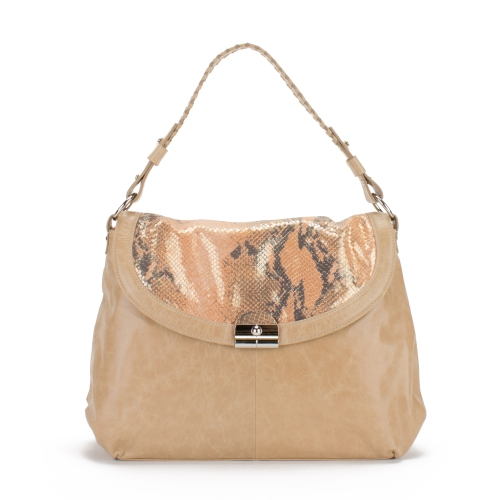 cb0a09d69c Soprano Handbags Belinda Glazed Leather Python Print Bag - Cantaloupe   Shoulder  Bags - Best Buy Canada