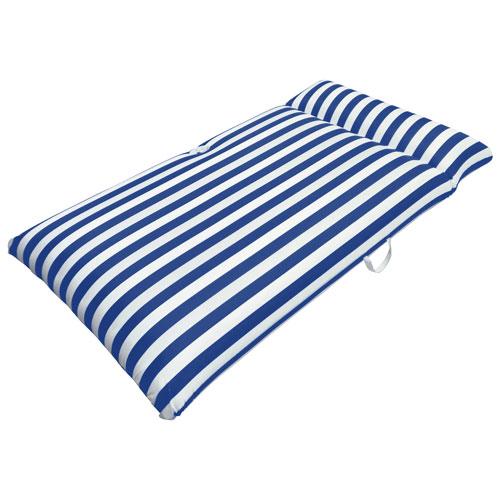 Matelas gonflable pour piscine Morgan Dwyer de Drift + Escape - Bleu marine