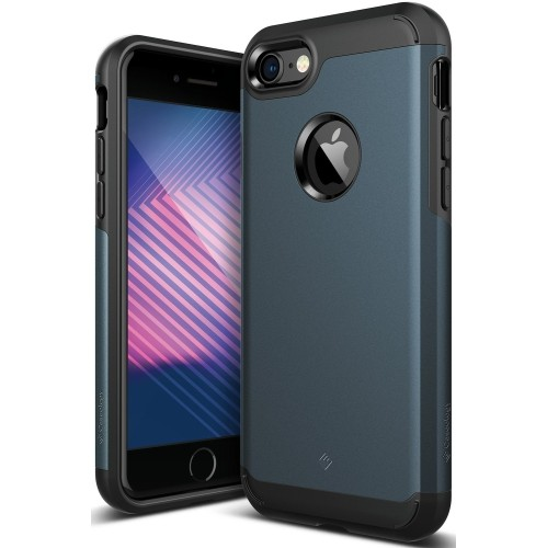 Caseology Legion Series Iphone 7 Cover Case With Tough Rugged Heavy Duty Protection For Apple Iphone 7 2016 Only Deep Blue Best Buy Canada