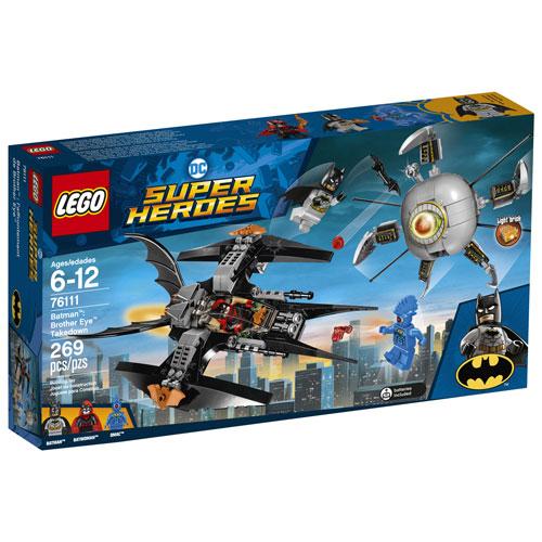 Lego Dc Super Heroes Batman Brother Eye Takedown 269 Pieces