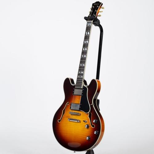 Eastman T486-SB Thinline Double Cutaway Electric Guitar - Sunburst