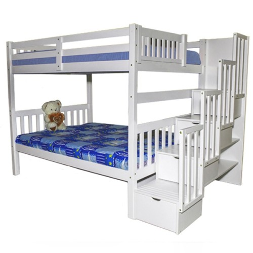 Staircase Full Over Full Bunk Bed Beds Bed Frames Best Buy Canada