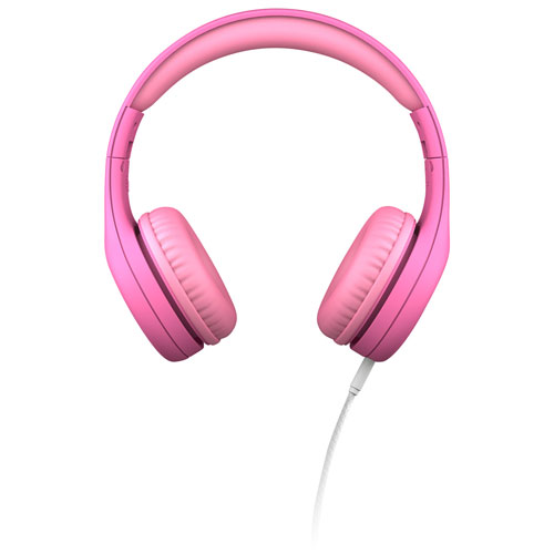 8977004f4e7 LilGadgets Connect+ PRO Premium On-Ear Headphones - Pink   Best Buy Canada