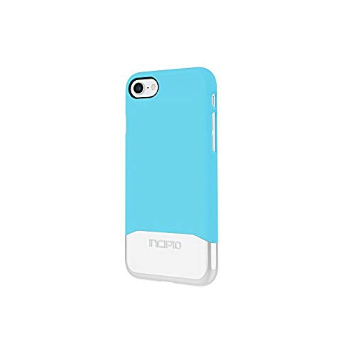 new product b537b b73ba Incipio IPH-1475-SBS Case for Apple iPhone 7-Sky Blue Silver
