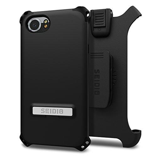 pretty nice d5748 04981 Seidio Dilex Kickstand Case Holster Combo BlackBerry KEYOne (Black Black)