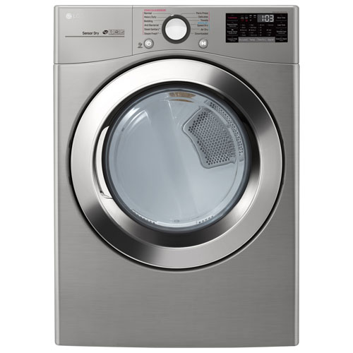 LG DLEX3700V 7.4 Cu. Ft. Electric Steam Dryer