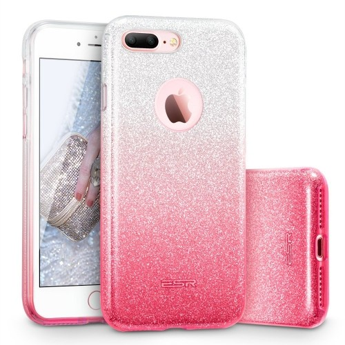 iphone 7 plus case, esr iphone 7 plus makeup series back coveriphone 7 plus case, esr iphone 7 plus makeup series back cover shinning protective bumper bling glitter case for 5 5 inches i online only