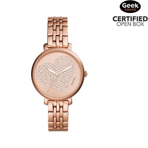 806d0e57855 Fossil Jacqueline 36mm Women s Casual Watch - Rose Gold - Open Box ...