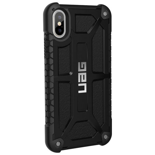 694c1f796c1 UAG Monarch Fitted Hard Shell Case for iPhone X - Midnight | Best Buy Canada