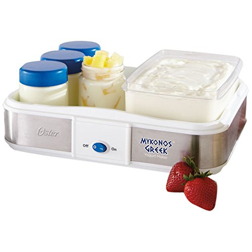 Oster Mykonos Greek Yogurt Maker, Large CKSTYM1010-033
