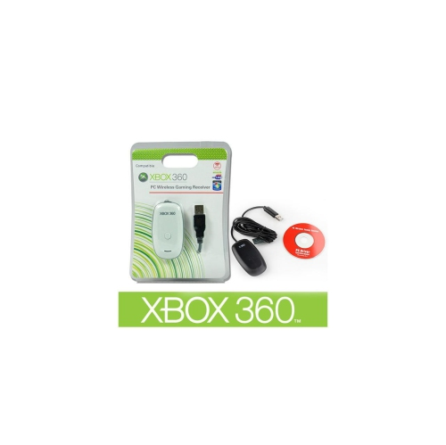 Xbox 360 Accessories: Wireless Adapter & Gaming Receiver, Cable