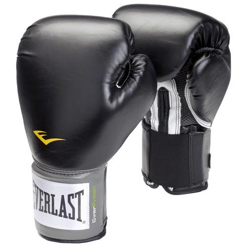 Gants d'entraînement de 14 oz Pro Style d'Everlast - Noir