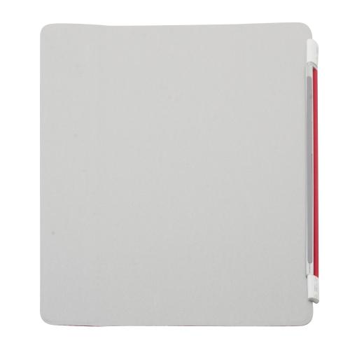 Étui magnétique intelligent rouge pour Apple iPad 2/3/4