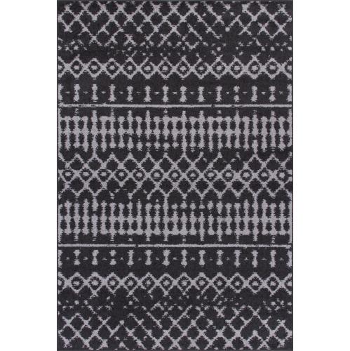 """Lavan Vintage Marocain gris foncé tapis 3'3""""x4'11"""""""