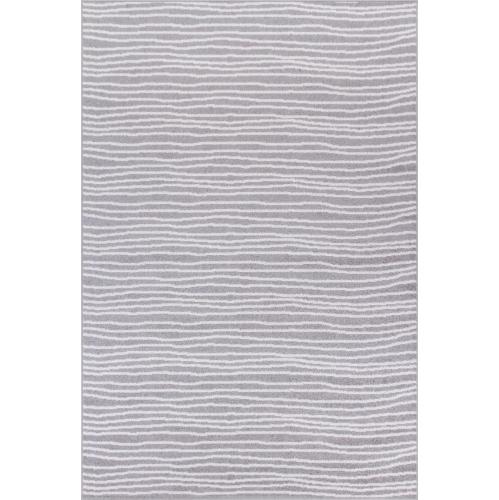 """Tapis de Lavan Gray Lines 2'2""""x3'11"""""""