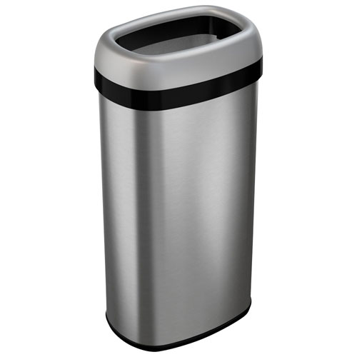 Itouchless 60l Sensor Trash Can Stainless Steel Bathroom