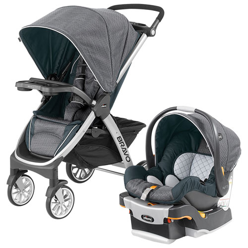 Chicco Bravo Standard Stroller with KeyFit 30 Infant Car ...
