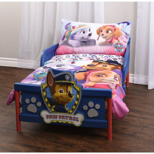 PAW Patrol 3 Piece Bed Sheet Set   Toddler : Kids U0026 Toddler Bedding   Best  Buy Canada