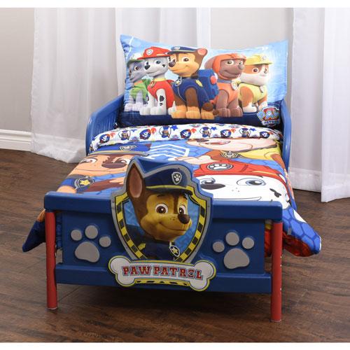 Paw Patrol 3 Piece Bed Sheet Set Toddler Kids Toddler Bedding