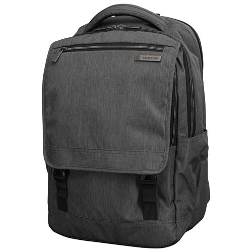 "Samsonite Modern Utility 15.6"" Laptop Day Backpack - Charcoal Heather"