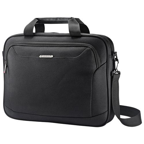 """Samsonite Xenon 3 Shuttle 13"""" Laptop Designer Bag - Black"""