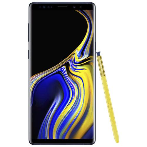 Koodo Samsung Galaxy Note9 128GB - Ocean Blue - Select Tab Plan