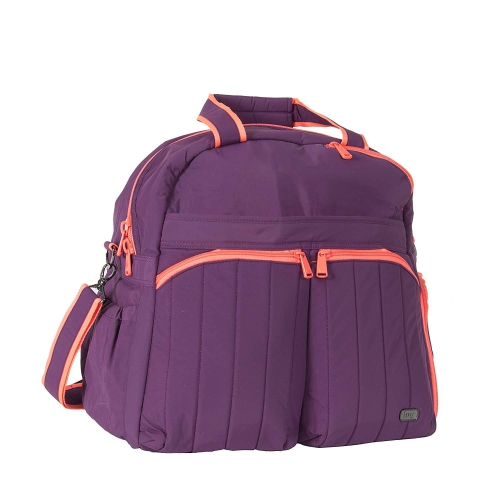 aaa2a99d2a Lug - Boxer Overnight Gym Duffel Bag (Plum Purple)   Duffle Bags - Best Buy  Canada