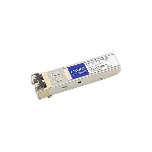 Addon Cisco Ons-si-155-sr-mm Compatible Taa Compliant Oc-3-sr Sfp  Transceiver (mmf, 1310nm, 2km, Lc