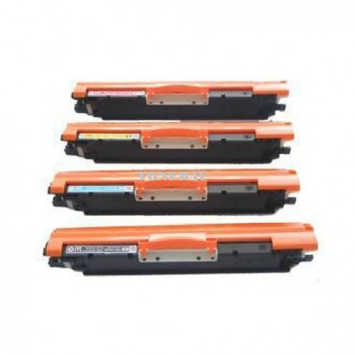 4 Toner Cartridges CE310A CE311A CE312A CE313A Replacement for HP 126A CP1025NW LaserJet M275 , MFP M175 series