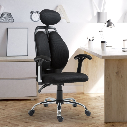 Vinsetto High Back Ergonomic Mesh Office Chair With