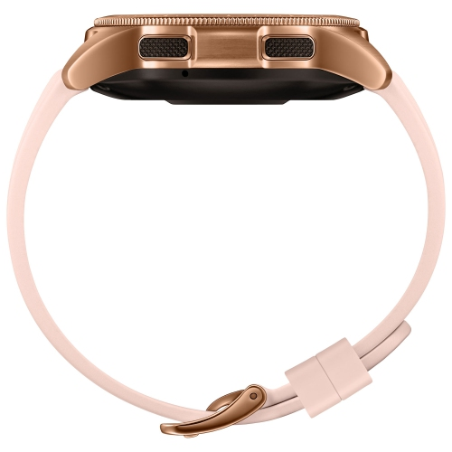 3dd414470a Samsung Galaxy Watch 42mm Smartwatch with Heart Rate Monitor - Rose Gold    Best Buy Canada