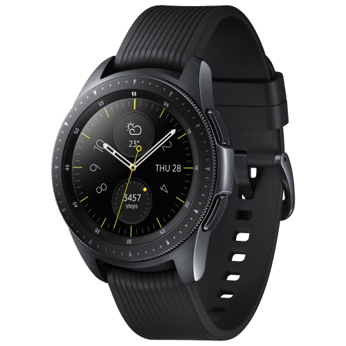 Samsung Galaxy Watch 42mm Smartwatch with Heart Rate Monitor - Black    Smartwatches - Best Buy Canada 91019b59c8a