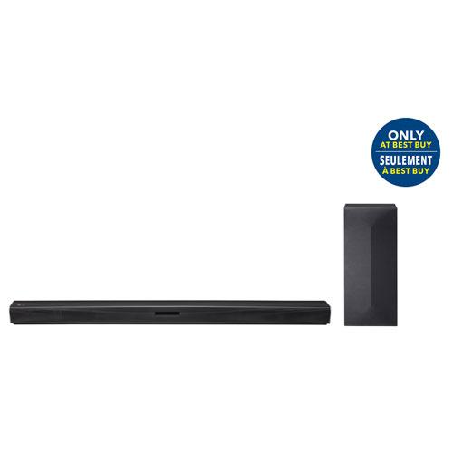 Barre de son LG SK4D 300 watts à 2,1 canaux avec caisson de basses sans fil - Seulement chez Best Buy
