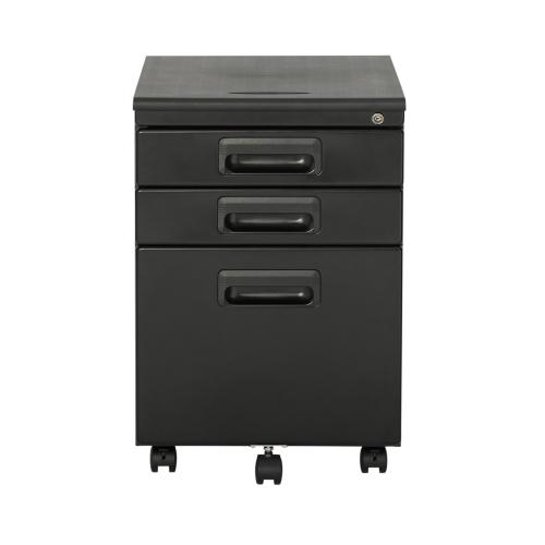 Studio Designs 3 Drawer Metal Rolling File Cabinet With Locking Drawers    Black/Black : Filing Cabinets U0026 Office Storage   Best Buy Canada
