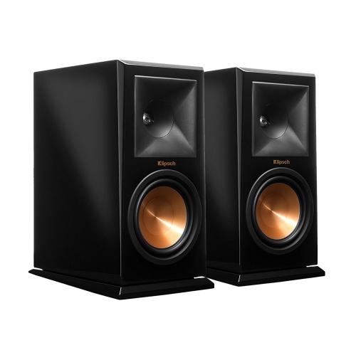 Klipsch RP 160M Piano Black Bookshelf Speaker Pair Speakers