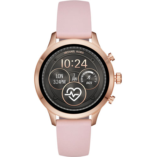 Michael Kors Access Runway 35mm Smartwatch with Heart Rate Monitor - Pink    Smartwatches - Best Buy Canada e5c277afe2ea