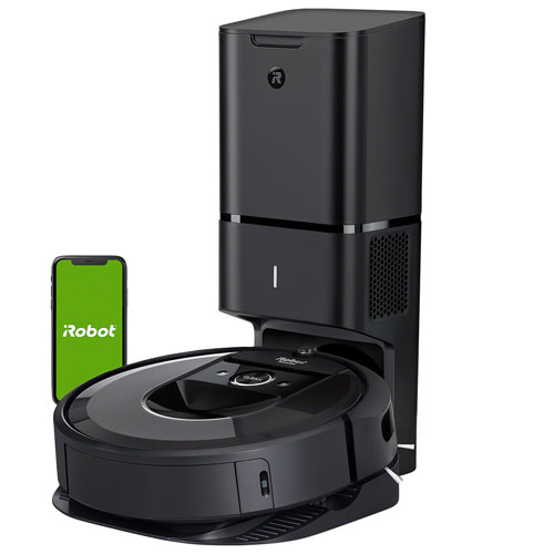 iRobot Roomba i7+ Wi-Fi Robot Vacuum with Automatic Dirt Disposal (7550)
