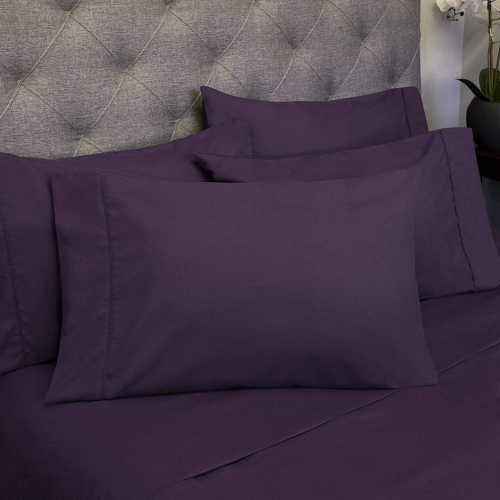 King Sheets 2500 Bamboo Comfort Plus   Purple : Sheet Sets   Best Buy Canada