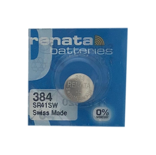 10-Pack 384 / SR41SW Renata Silver Oxide Button Batteries