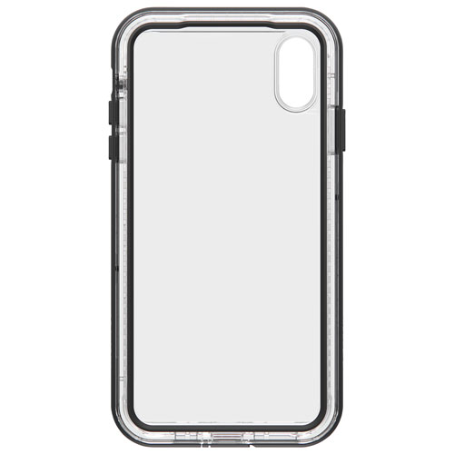 LifeProof NËXT Fitted Hard Shell Case for iPhone XS Max - Clear Black    iPhone XS Max Cases - Best Buy Canada 253b92294f