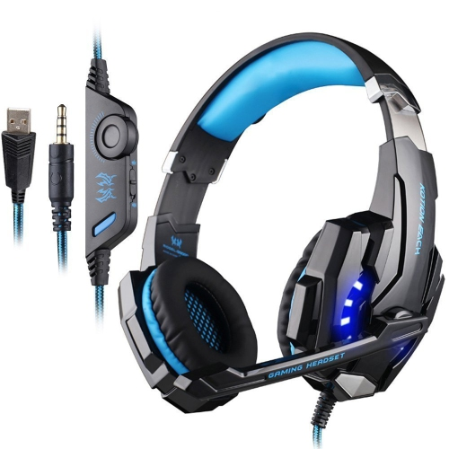 3.5mm Stereo earphone with Mic Noise Reduction PC Gaming Headset Headphone for PlayStation 4 Xbox One Laptop