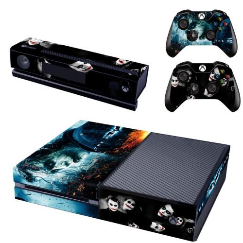 [REYTID] Xbox One Console Skin / Sticker + 2 x Controller Decals & Kinect  Wrap - Joker Dark Knight