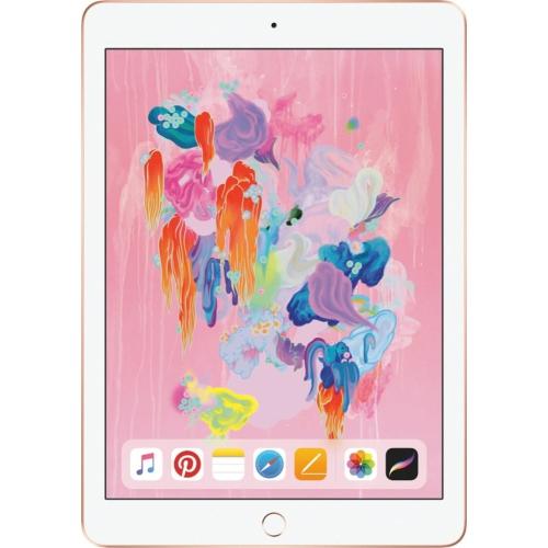 Apple Ipad 9 7 Inch 6th Gen 2018 Wi Fi 32gb Gold Certified Refurbished Best Buy Canada