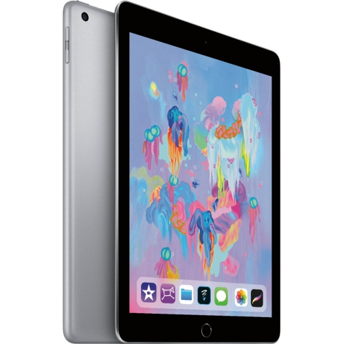 Apple Ipad 9 7 Inch 6th Gen 2018 Wi Fi 32gb Space Gray Certified Refurbished Best Buy Canada