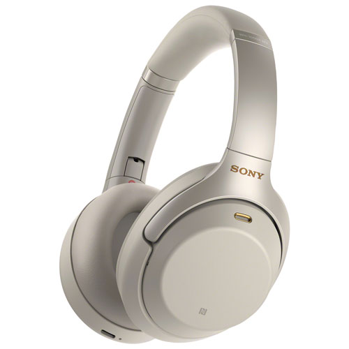 Sony Over Ear Noise Cancelling Headphones Wh1000xm3 S Silver Best Buy Canada