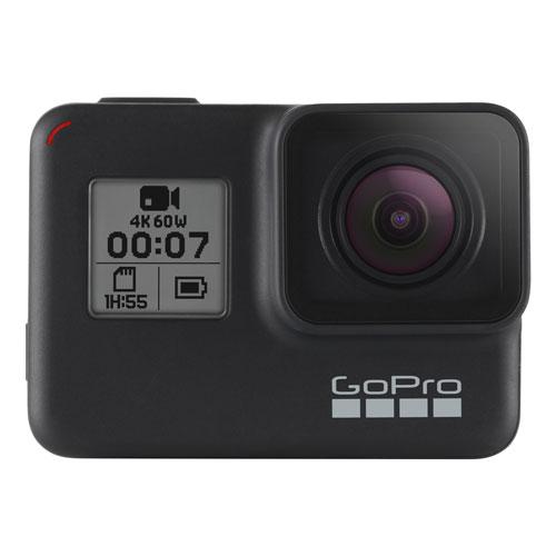GoPro HERO7 Waterproof HD Sports & Helmet Camera - Black