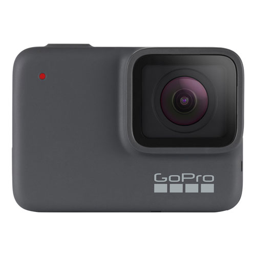 Gopro Hero7 Waterproof 4k Sports Helmet Camera Silver Best Buy Canada