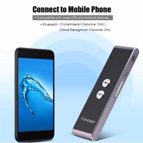 F S D Multi-Language Portable Smart Voice Translator