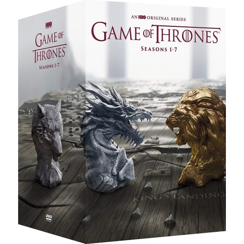 game of thrones boxed set dvd